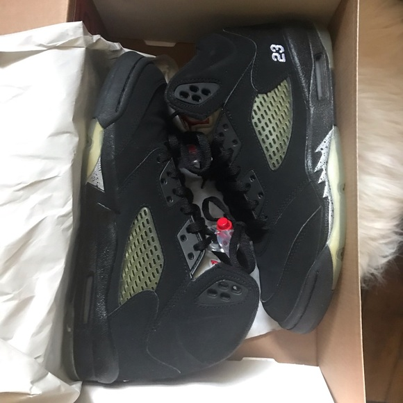 Jordan Shoes   Air 5 Retro Metallic